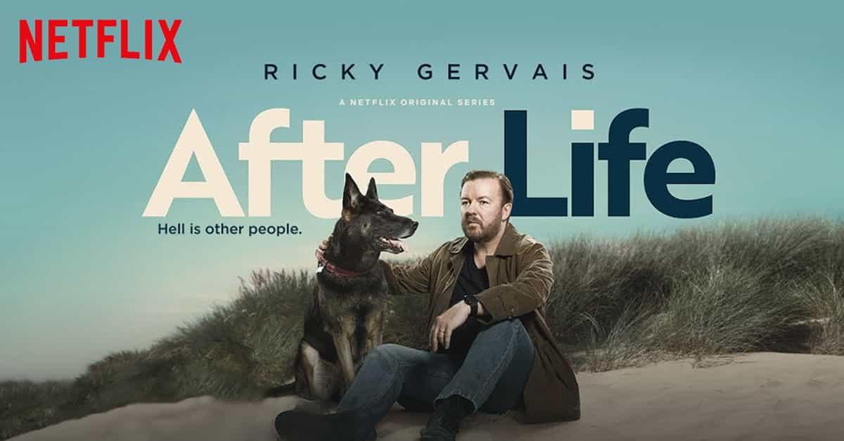 الموسم الثانى من مسلسل «After Life » يصل 24 أبريل الجارى
